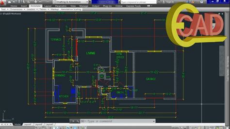 tutorial gratis autocad 2013 learning autocad 2013 tutorial 10 creating and using
