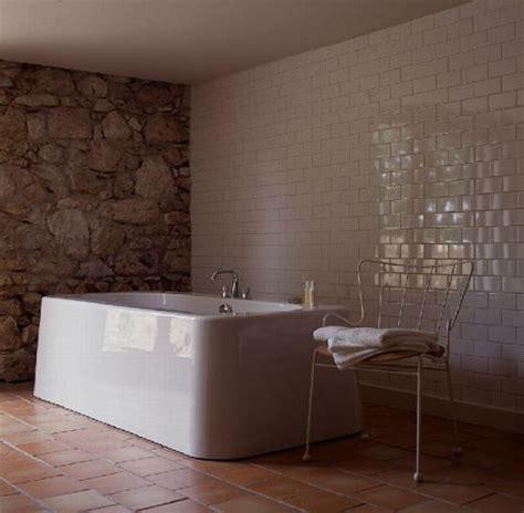 terracotta bathroom eclectic farmhouse in the heart of france house of hautefage