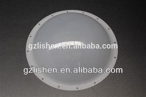 acrylic polycarbonate white dome plastic