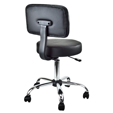 Doctors Stool With Back by Salon Dental Doctor Stool With Back Cushion