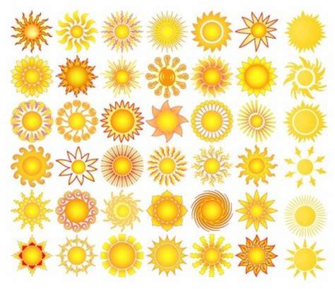 abstrak jingga wallpaper matahari elemen koleksi vektor vektor misc vektor gratis