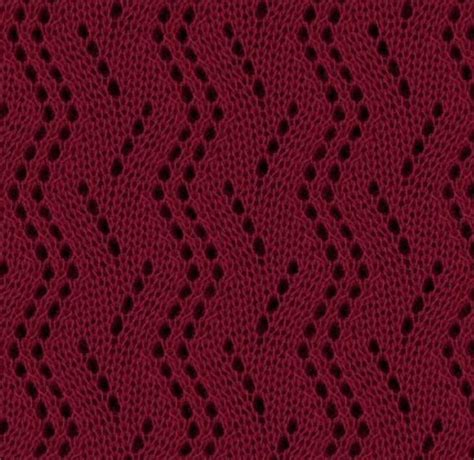 zig zag cable pattern vertical zig zag lace knitting stitch pattern knitting