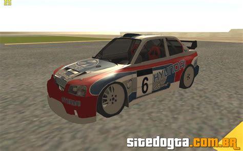 hyundai accent rally hyundai accent coupe rally car para gta san andreas site