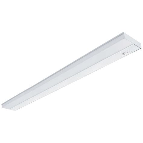 lithonia cabinet lighting lithonia lighting 42 in white t5 fluorescent cabinet light uc 42e 120 swr m6 the home depot