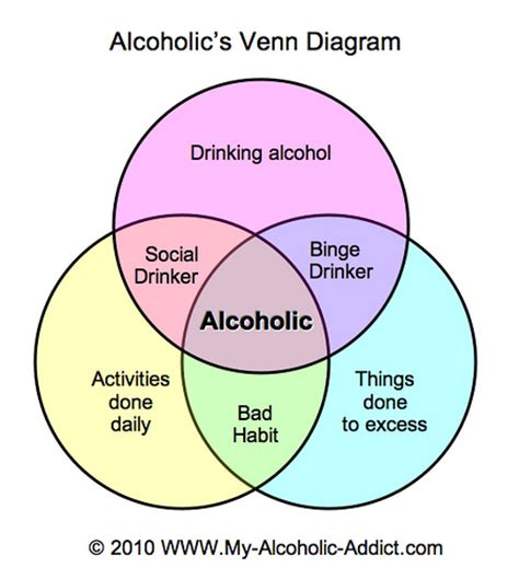 addiction diagram alcoholic s venn diagram this venn diagram portrays the