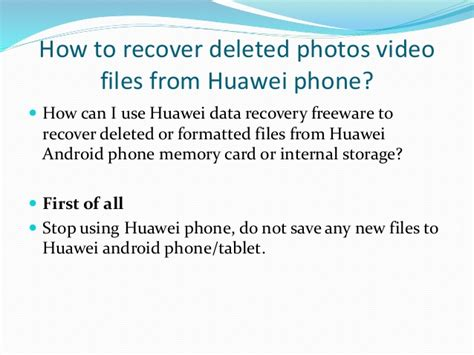 how to recover deleted files on android how to recover deleted files from huawei android phones