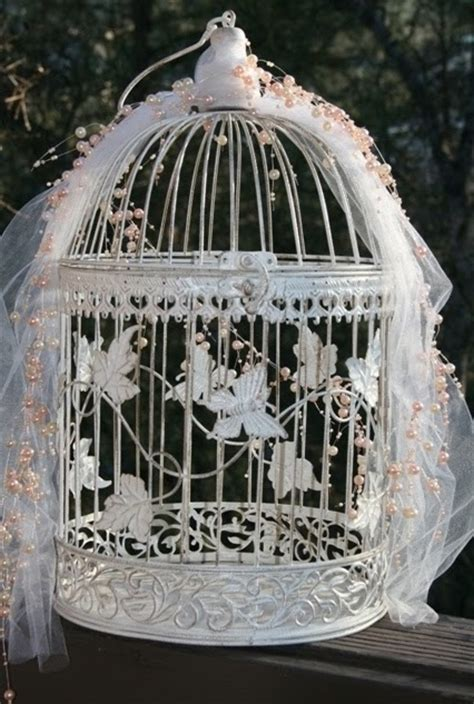 bella maison tresors shabby bird cages for weddings and more