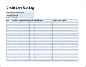 credit card payment spreadsheet template credit card use log template formal word templates