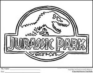 jurassic park coloring pages coloring home