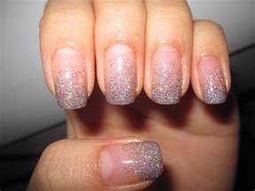 jelly s nails glitter gradient nails