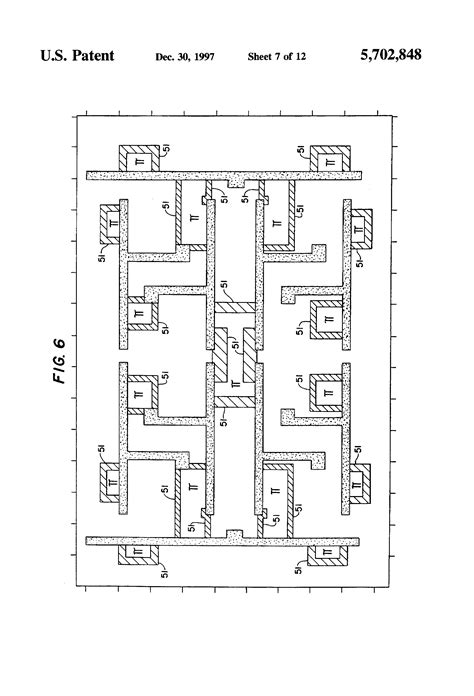 integrated circuit lithography patent us5702848 mask for optical lithography using phase shift masking and integrated