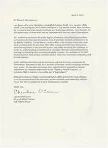 sample letter of reference for eagle scout cover letter