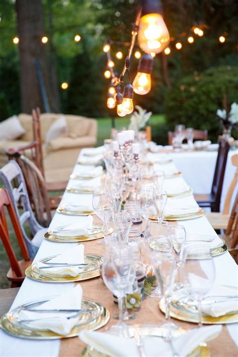 chic southern rustic engagement party tidewater