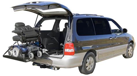 Transporting Your Wheelchair Or Scooter With An Suv Or Van