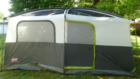 coleman quot prairie quot series 9 person tent with led