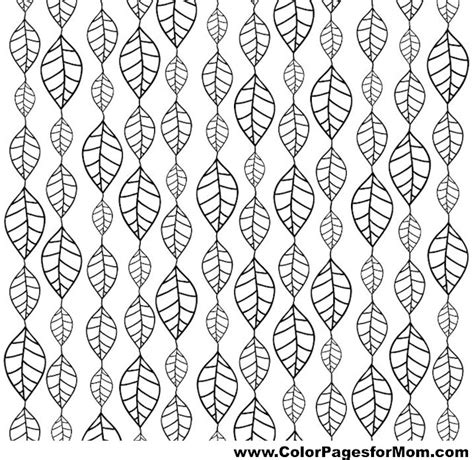 leaves coloring pages for adults advanced leaves coloring page 51