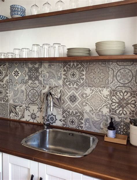 Beautiful Kitchen Backsplash Ideas beach appartment kitchen in playa granada andalusia
