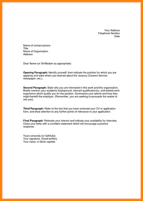 cover letter sle opening 28 images how to write a