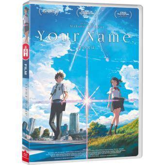 your name vol 1 your name your name dvd dvd zone 2 makoto shinkai achat prix