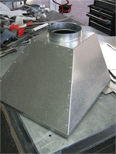 Fume Extraction Hoods   Galvanised Steel   Ducting Supplies