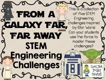 stem engineering challenges pack   galaxy    set   stem activities