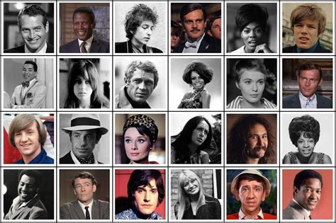 celebrity games and quizzes 1960s celebrity field guide quiz