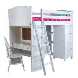 bunk beds with storage and desk cooley sleep study and storage loft bunk beds
