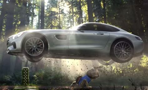 mercedes ads 2016 the mercedes amg super bowl ad is lost in the woods video