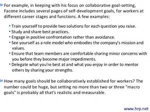 the power of collaborative goal setting in driving