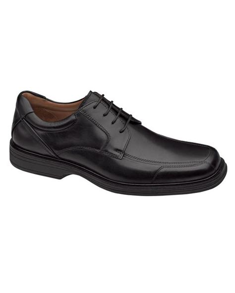 johnston murphy xc4 pattison lace up dress shoes in black for lyst