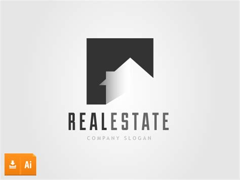 real estate logos ai eps