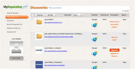 Naymz Search Five Tools To Monitor And Manage Your Reputation Techrepublic