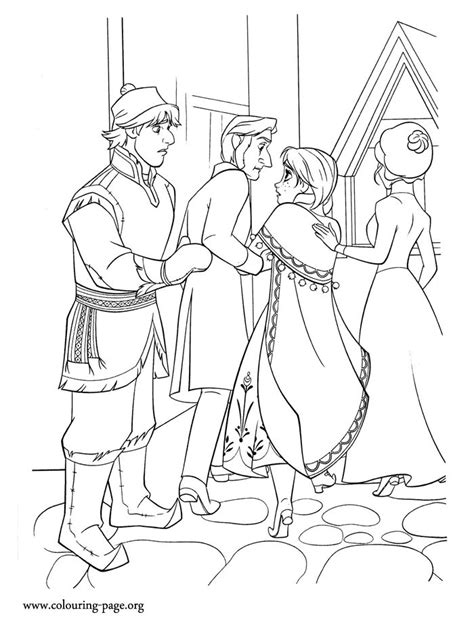 frozen coloring pages and kristoff family 197 best frozen colouring pages images on