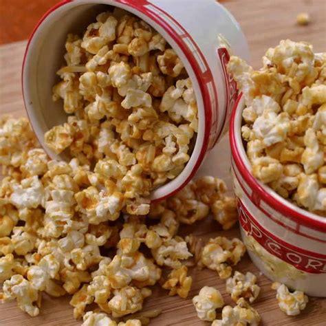Caramel Almond almond caramel popcorn