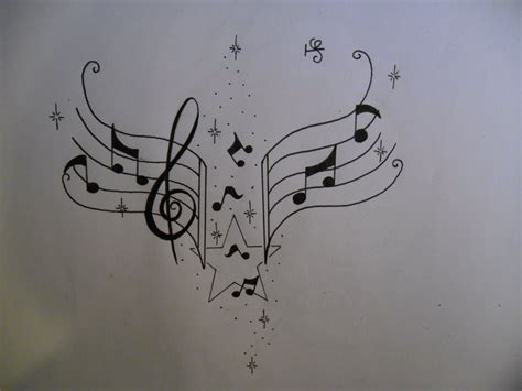 heart with music notes tattoo designs tattoos favourites by zella de venus on deviantart