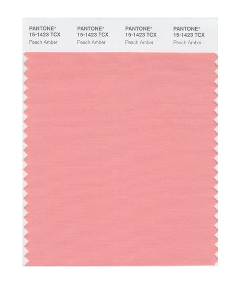 peach pantone buy pantone smart swatch 15 1423 peach amber