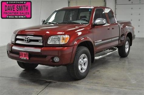 Toyota Coeur D Alene Idaho Purchase Used 2006 Toyota Tundra 4x4 Sr5 Trd Access Cab In