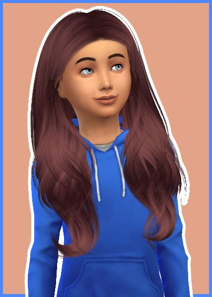 sims 4 cc for kids hair sims 4 children hair tumblr