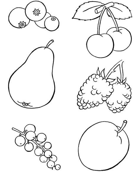 coloring conjuntos conjuntos de frutas para colorear imagui