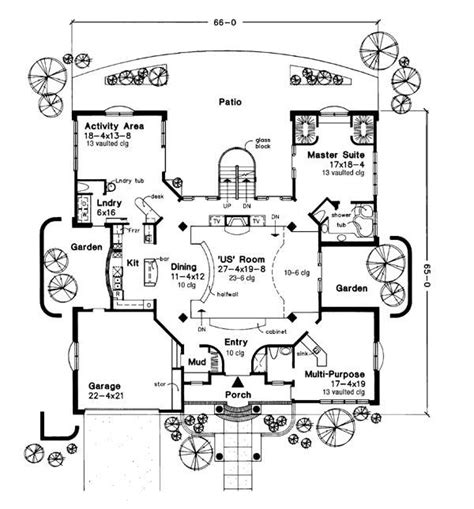futuristic house floor plans newsweek house of the future 6182 3 bedrooms and 4 baths the house designers