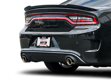 dodge exhaust tips charger hellcat exhaust systems performance cat back