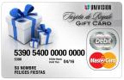 Regal Gift Card Without Pin - mastercard and univision launch prepaid debit gift card