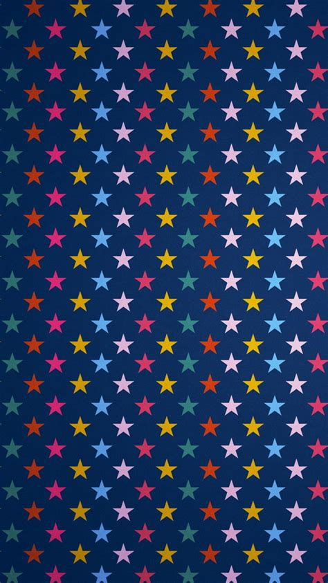 colorful pattern iphone wallpaper colorful stars illustration pattern iphone 6 wallpaper