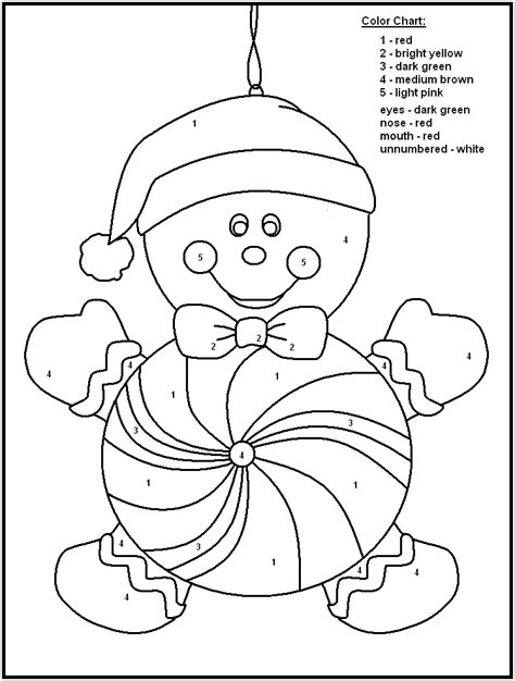 printable christmas coloring pages by number 5 best images of christmas color by number printables