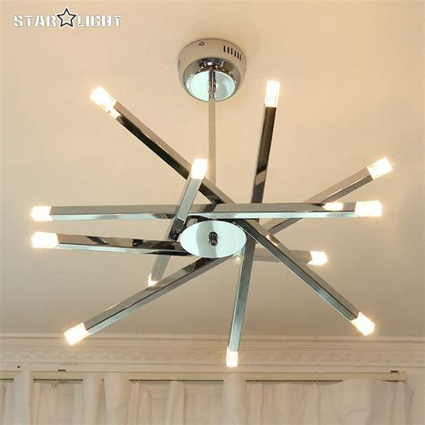 modern led ceiling light modern chrome home fixtures