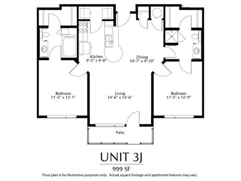 dual master bedroom floor plans 2 bed 1 75 bath apartment in denver co the district