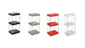 Small White Shelf Unit Small Glass Shelving Unit Black White Grey Gloss