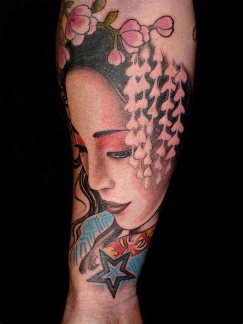 tattoo orientali geisha tatuaggi giapponesi per lui foto qnm