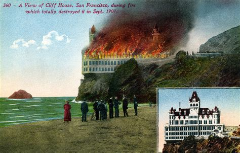 The Cliff House San Francisco by Cliff House San Francisco California A View Of Cliff
