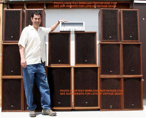 Speaker 4 Pasif 3 Way Altec 200 Watt 2unit jerry of oaktreevintage the wall o sansui